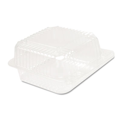 Dart StayLock Clear Hinged Lid Containers