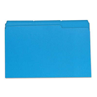 Universal One Colored Top Tab File Folders