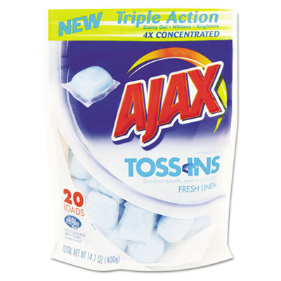 Ajax Toss Ins Powder Laundry Detergent