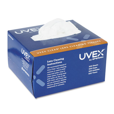 Uvex Clear Lens Cleaning Moistened Towelettes