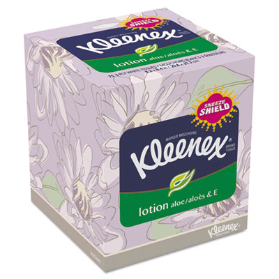 KIMBERLY-CLARK PROFESSIONAL* KLEENEX Lotion Facial Tissue