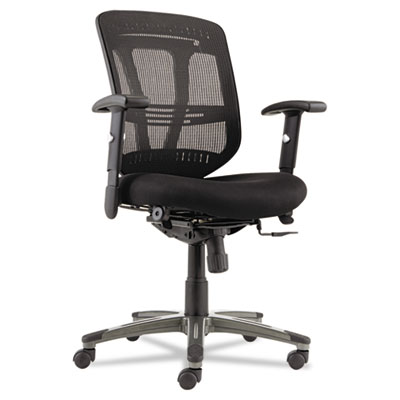 Alera Eon Series Multifunction Mid-Back Cushioned Mesh Chair