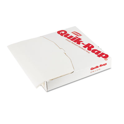 Dixie Quik-Rap Grease-Resistant Sandwich Paper