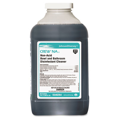 Diversey Crew NA SC Non-Acid Bowl and Bathroom Disinfectant Cleaner