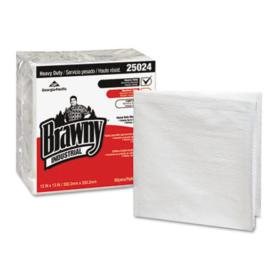 Georgia Pacific Professional Brawny Industrial Heavy Duty 1/4-Fold Shop Towels