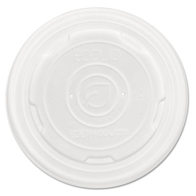 Eco-Products World Art PLA-Laminated Soup Container Lids