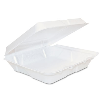 Dart Foam Hinged Lid Containers