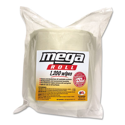 2XL Mega Roll Wipes Refill