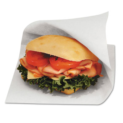 Bagcraft Papercon Dry Wax Paper Sandwich Bags