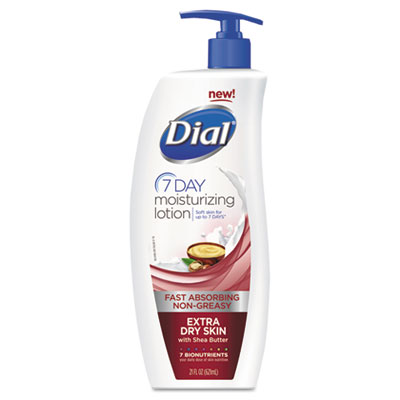 Dial Extra Dry 7-Day Moisturizing Lotion with Shea Butter