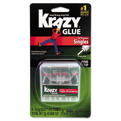 Krazy Glue Single-Use Tubes