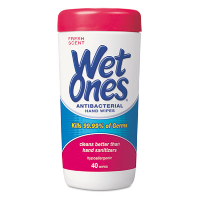 Wet Ones Antibacterial Moist Towelettes