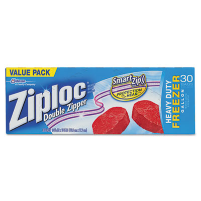 Ziploc Double Zipper Freezer Bags