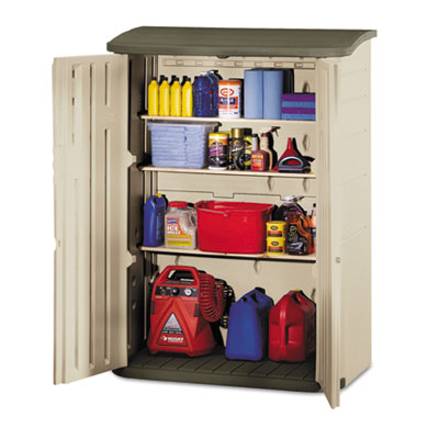 Rubbermaid Large Vertical Outdoor Storage Shed