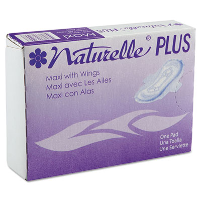 Naturelle Plus Maxi Pads with Wings