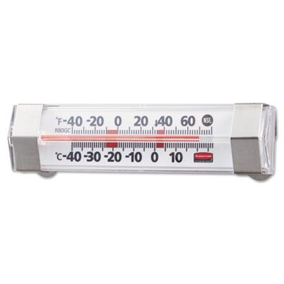 Rubbermaid Commercial Pelouze Refrigerator/Freezer Monitoring Thermometer