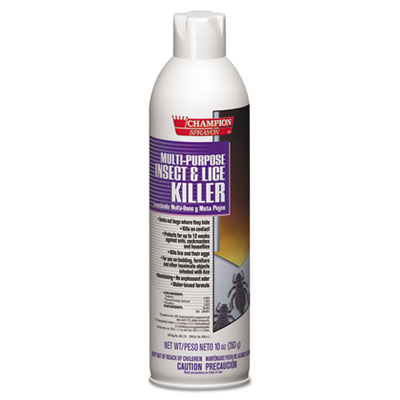 Chase Products Champion Sprayon Multipurpose Insect and Lice Killer