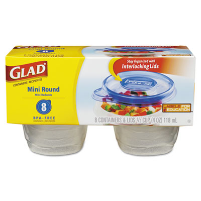 Glad GladWare Plastic Containers with Lids