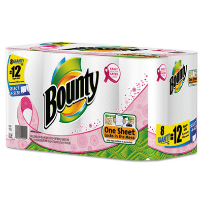 Bounty Select-a-Size Perforated Roll Towels