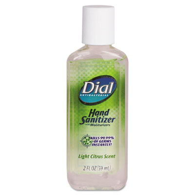 Dial Scented Antibacterial Gel Sanitizer with Moisturizer
