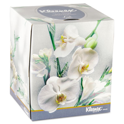 KIMBERLY-CLARK PROFESSIONAL* KLEENEX BOUTIQUE* Two-Ply White Facial Tissue