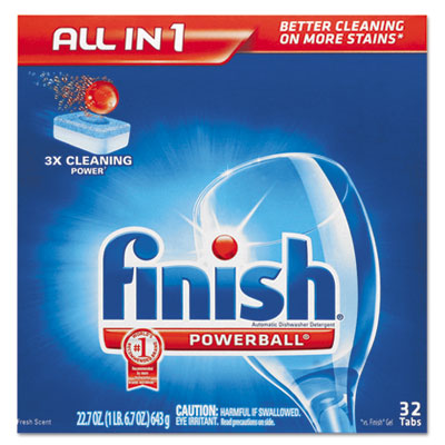 FINISH Powerball Dishwasher Tabs