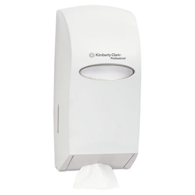 KIMBERLY-CLARK PROFESSIONAL* IN-SIGHT* Hygienic Interfolded Bath Tissue Dispenser