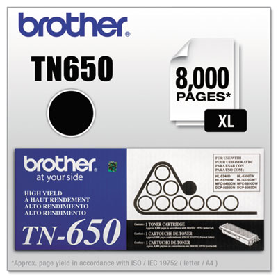Brother TN650, TN620 Toner