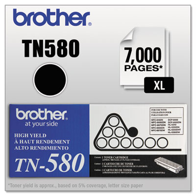 Brother TN550, TN560, TN580 Toner Cartridge