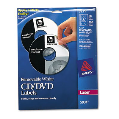 Avery CD/DVD Labels