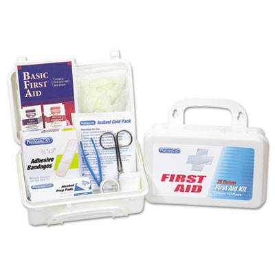 PhysiciansCare First Aid Kit for Use By Up to 25 People