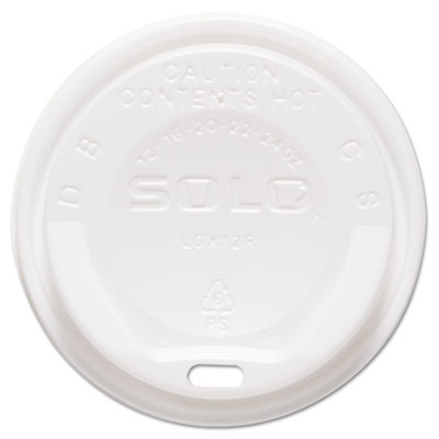 SOLO Cup Company The Gourmet Lid Hot Cup Lids for Trophy Plus