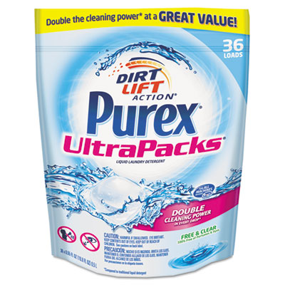 Purex Ultrapacks Liquid Laundry Detergent