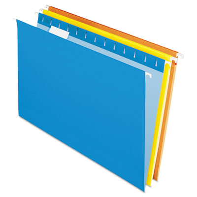 Pendaflex Essentials Colored Hanging Folders