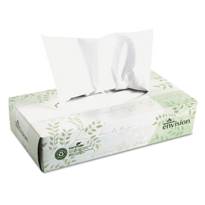 Georgia Pacific Professional envision White Facial Tissue