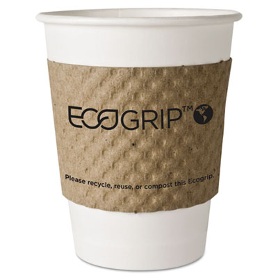 Eco-Products EcoGrip Recycled Content Hot Cup Sleeve