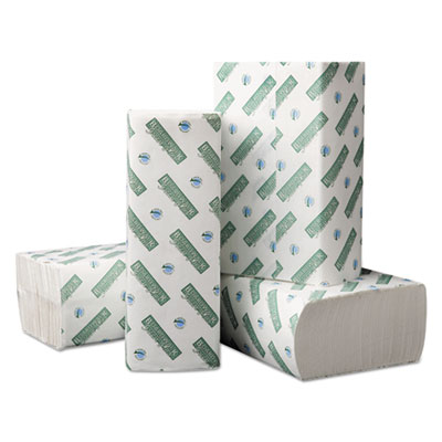 Boardwalk Green Plus Folded Paper Towels