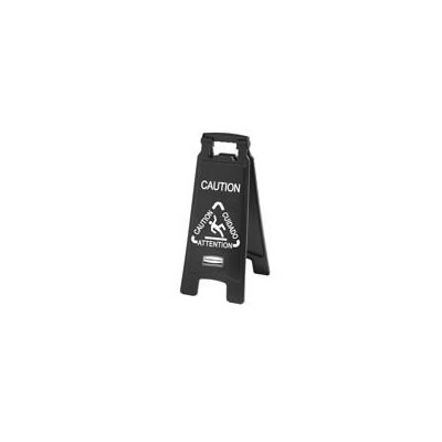 Rubbermaid Commercial Executive 2-Sided Multi-Lingual Caution Sign