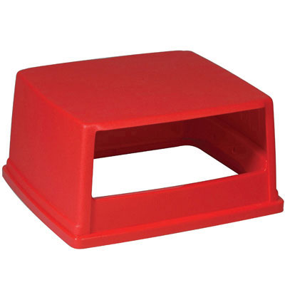 Rubbermaid Commercial Glutton Hood-Top Receptacle Lid