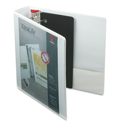 Cardinal XtraLife Non-stick ClearVue Locking Slant-D Ring View Binder