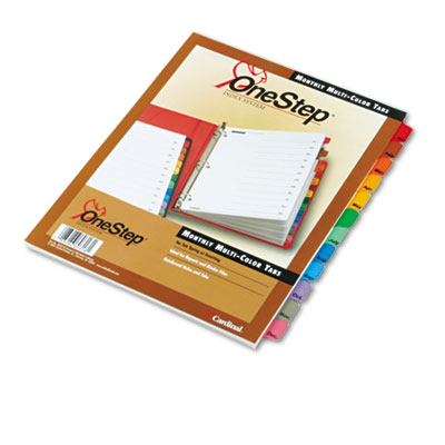 Cardinal OneStep Printable Table of Contents and Dividers