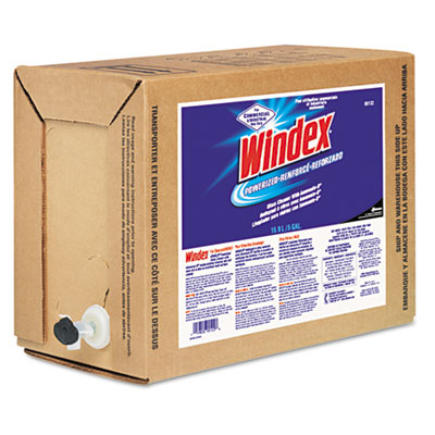 Windex Powerized Formula in Bag-in-Box Dispenser