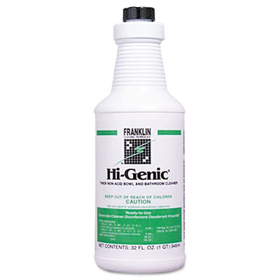 Franklin Cleaning Technology Hi-Genic Bowl and Bathroom Cleaner