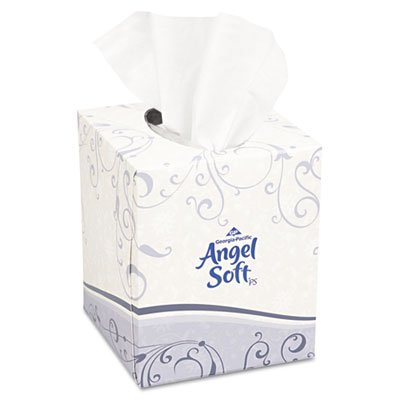 Georgia Pacific Professional Angel Soft ps Premium White Facial Tissue