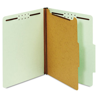 Globe-Weis Heavy-Duty Pressboard Top Tab Classification Folders