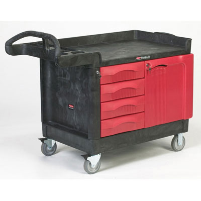 Rubbermaid Commercial TradeMaster Cart