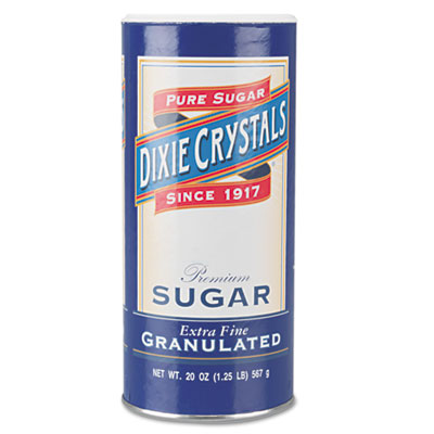 Dixie Crystals Premium Extra Fine Granulated Sugar