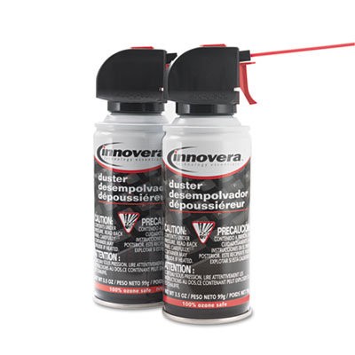 Innovera Compressed Air Duster Cleaner