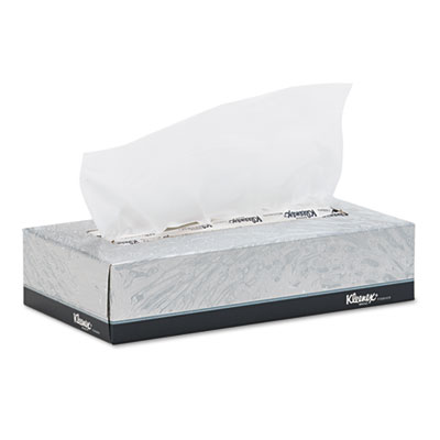 KIMBERLY-CLARK PROFESSIONAL* KLEENEX White Facial Tissue