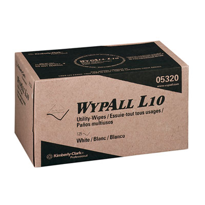 KIMBERLY-CLARK PROFESSIONAL* WYPALL* L10 Utility Wipes